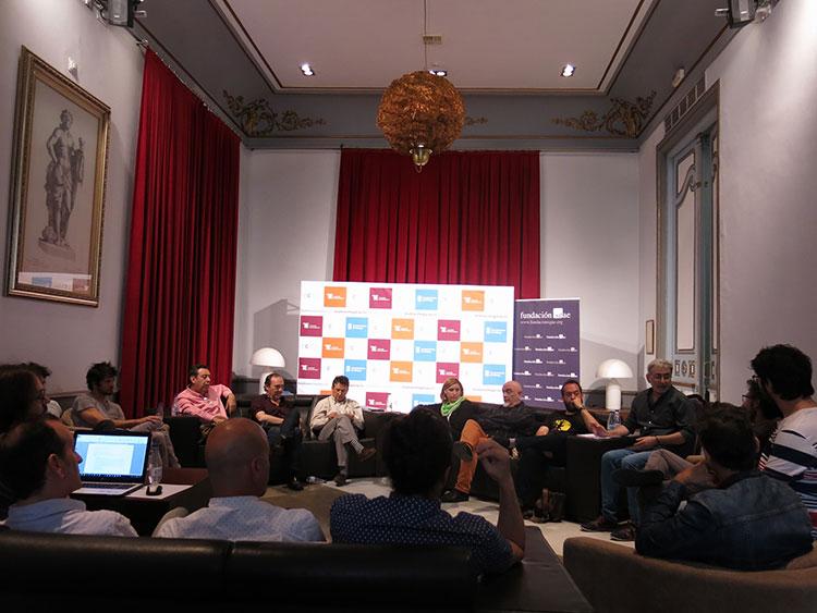 II Encuentro autores teatrales andaluces - Durante la mañana