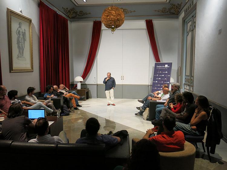II Encuentro autores teatrales andaluces - Durante sesión de tarde